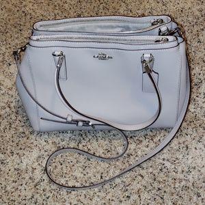 Coach F34673 Christie leather satchel
